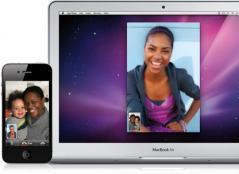 FaceTime for Mac Screenshot