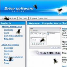 Fly on Desktop Screenshot