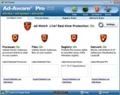 Adaware Pro Security Screenshot