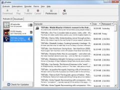 Portable gPodder Screenshot