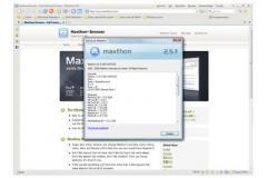 Portable Maxthon Screenshot