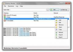 Portable Directory Monitor Screenshot