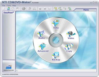 NTI Media Maker Screenshot