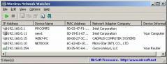 Wireless Network Watcher Screenshot