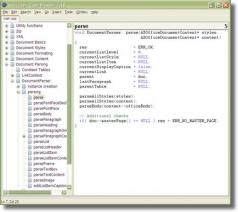 Code Browser Screenshot