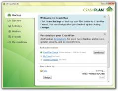 CrashPlan Screenshot