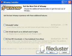Winamp 5 Full Screenshot