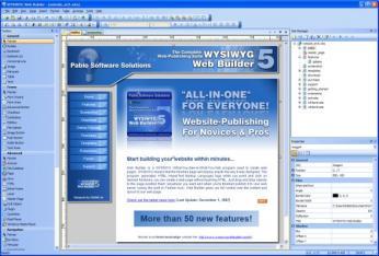 WYSIWYG Web Builder Screenshot