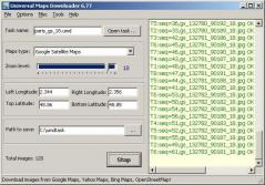 Universal Maps Downloader Screenshot