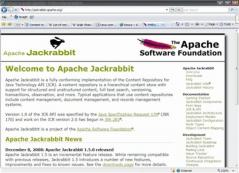 Apache Jackrabbit Screenshot