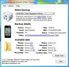 iPhone Backup Extractor 7.7.26 Build 3007 Download Free