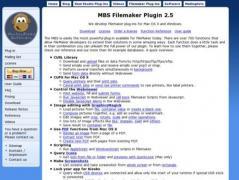 MBS FileMaker Plugin Screenshot