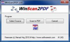 WinScan2PDF Screenshot