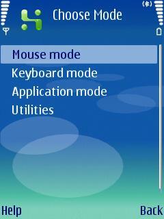 Mobile Witch Remote Control Screenshot