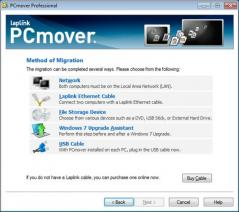 PCmover Professional Screenshot