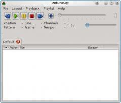 zxtune-qt Screenshot