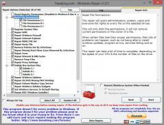 Portable Windows Repair Screenshot
