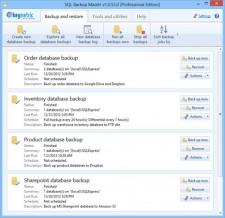 SQL Backup Master Screenshot