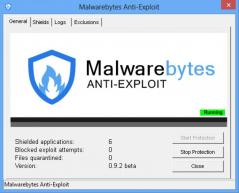 Malwarebytes Anti-Exploit Screenshot