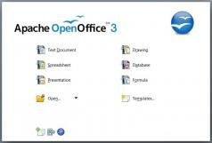 Apache OpenOffice.org Screenshot