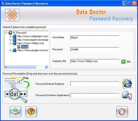 Email Password Hacking Software Screenshot