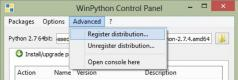 WinPython Screenshot