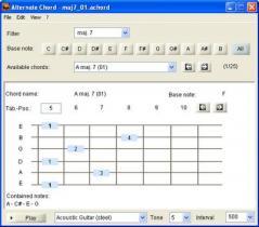 Alternate Chord Screenshot