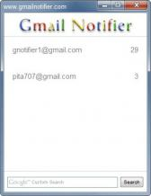 Gmail Notifier Screenshot