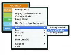 World Clock Deluxe X Screenshot