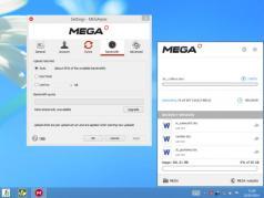 MEGAsync Screenshot