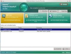 Kaspersky Endpoint Security for Business Screenshot