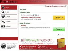 Preventon Antivirus Screenshot
