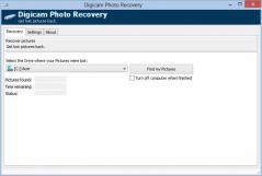 Digicam Photo Recovery Screenshot