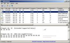 WifiInfoView Screenshot