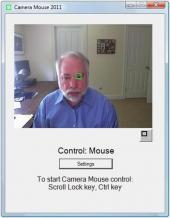 Camera Mouse Screenshot