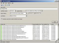 FolderTimeUpdate Screenshot