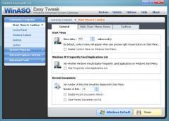 WinASO EasyTweak Screenshot