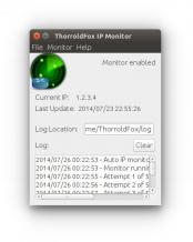 ThorroldFox IP Monitor Screenshot