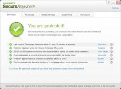 Webroot SecureAnywhere Antivirus Screenshot