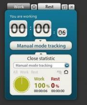 Motivate Clock Screenshot