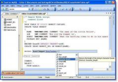 TOAD for MySQL Screenshot
