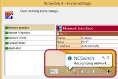 NCSwitch Screenshot