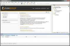 FlashDevelop Screenshot