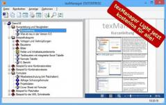 texManager Screenshot