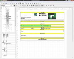 QtRPT Designer Screenshot