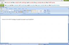 Ginger Writer Screenshot