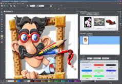 Xara Photo & Graphic Designer Screenshot