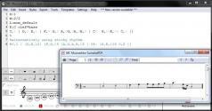 MC Musiceditor Screenshot