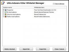 Ultra Adware Killer Screenshot