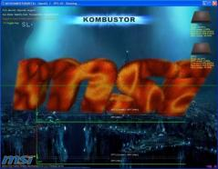 MSI Kombustor Screenshot